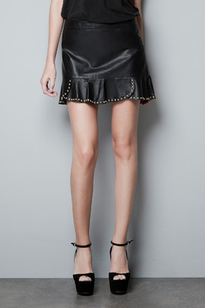 Forum buys - Zara leather skirt