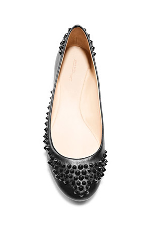 forum buys - Zara studded flats