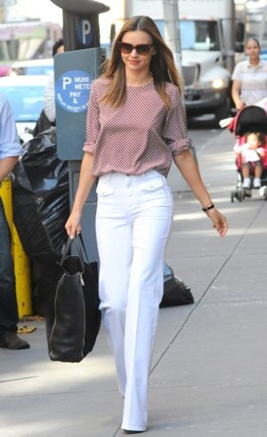 Miranda Kerr out and about New York City June 2012