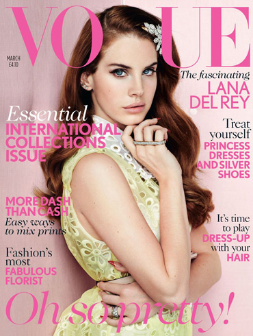 Lana Del Ray Vogue UK cover