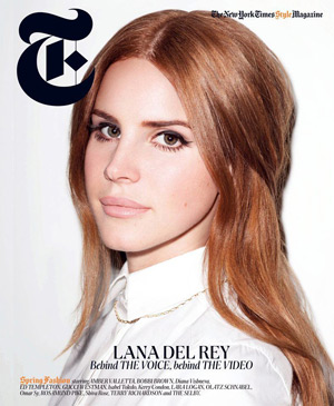 Lana Del Rey by Terry Richardson - T Magazine