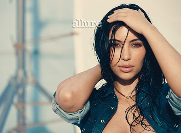 Kim Kardashian Allure March 2012
