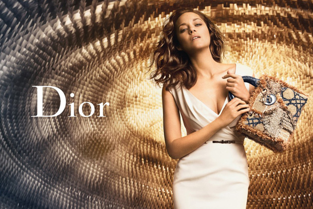 Lady Dior ad - Marion Cotillard by Peter Lindbergh