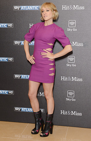 Chloe Sevigny in Versus at the screening for 'Hit & Miss' at Mayfair Hotel in London