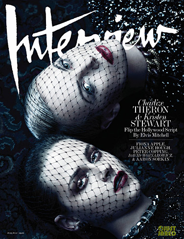 Charlize Theron and Kristen Stewart Interview cover