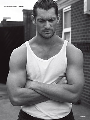 10 Men - David Gandy photographed by Paul Wetherell
