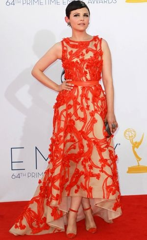 Ginnifer Goodwin 64th Annual Primetime Emmy Awards Los Angeles Sept 2012