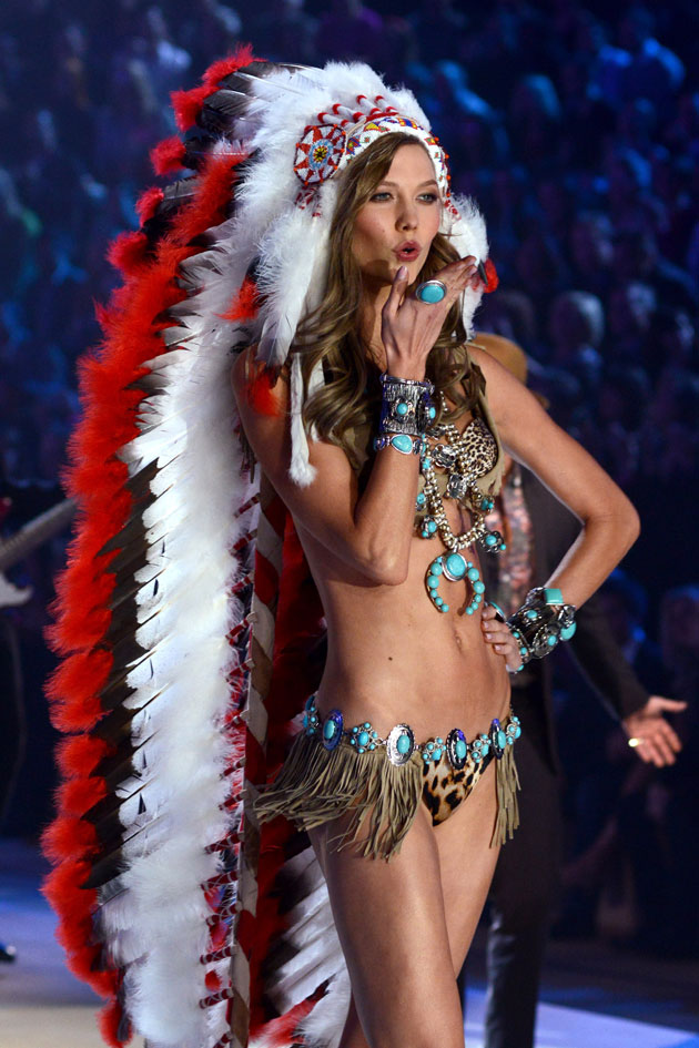 Karlie Kloss' Offensive Victoria's Secret Costume Won't Be Televised