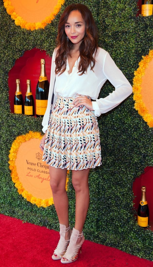 Ashley Madekwe 2012 Veuve Clicquot Polo Classic Pacific Palisades