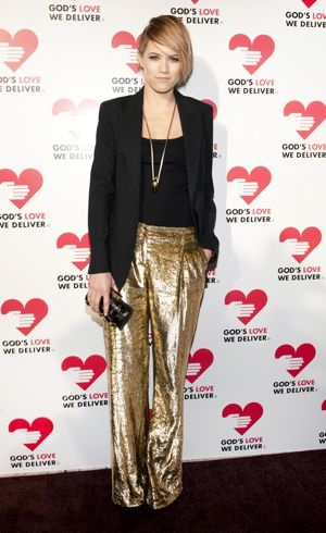 Cody Horn Gods Love We Deliver 2012 Golden Heart Awards Celebration New York City October 2012
