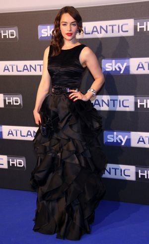 Emilia Clarke the launch of Sky Atlantic HD Hamburg May 2012