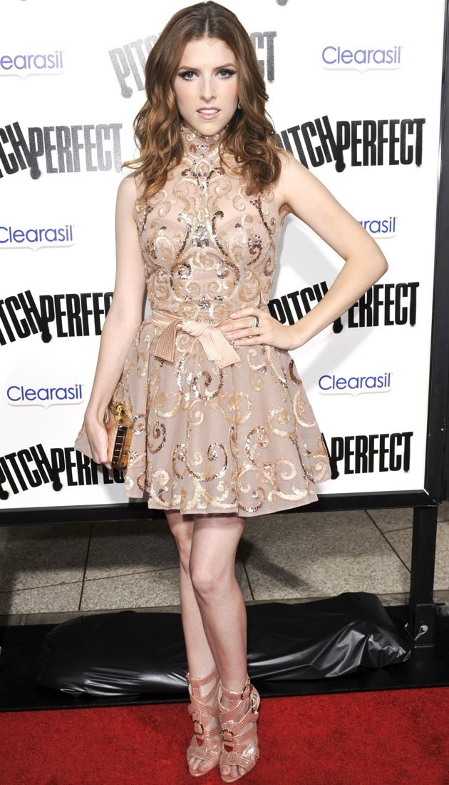 Anna Kendrick Los Angeles premiere of Pitch Perfect