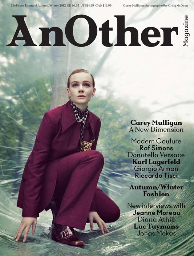 Carey Mulligan by Craig McDean - AnOther Magazine Fall 2012
