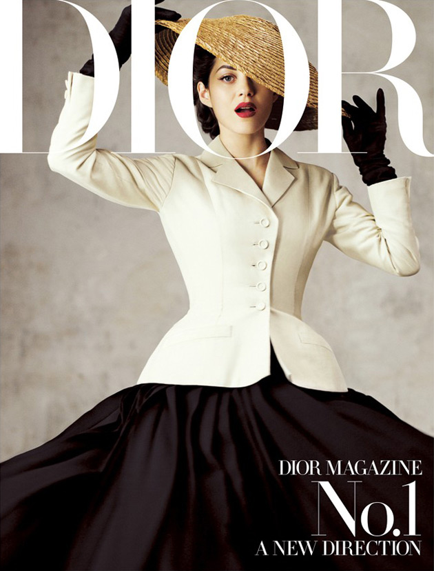 Dior Magazine Fall 2012 - Marion Cotillard photographed by Jean-Baptiste Modino