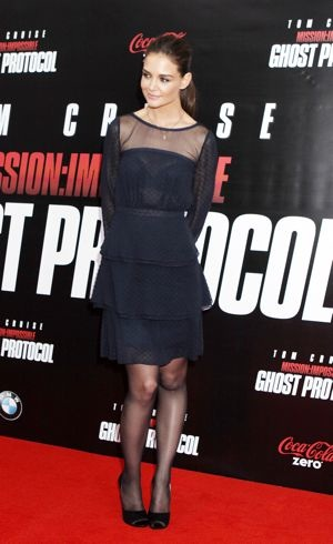 Katie Holmes New York Premiere of Mission Impossible-Ghost Protocol Dec 2011