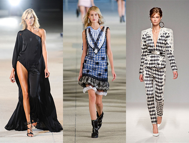 PFW Misses - Anthony Vaccarello, Alexis Mabille, Balmain