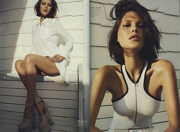 Vogue Australia November 2013 - Catherine McNeil photographed by Benny Horne