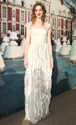 Anne Hathaway The White Fairy Tale Love Ball Crespieres France July 2011