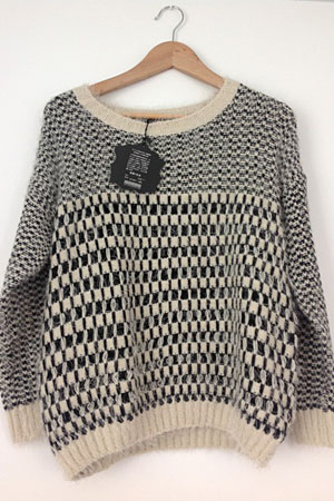 Japanese knit sweater - forum buys
