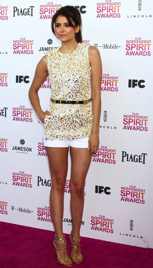 Nina Dobrev Film Independent Spirit Awards 2013 Santa Monica