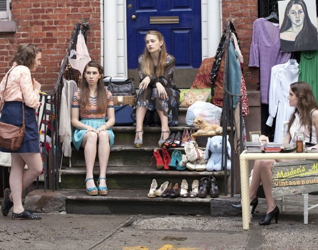 Stoop Sale Girls