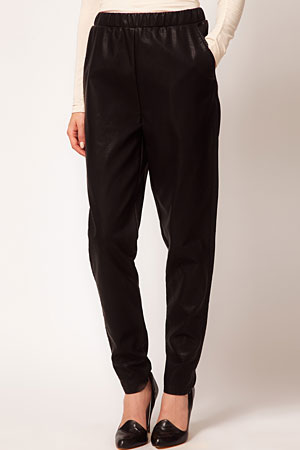 ASOS leather look sweatpants - forum buys