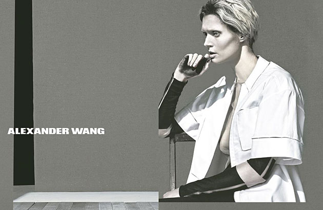 Alexander Wang Spring 2013 ad campaign - Malgosia Bela photographed by Steven Klein
