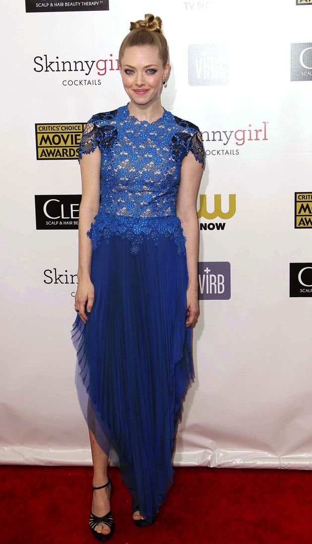 Amanda Seyfried 2013 Critics Choice Movie Awards Santa Monica