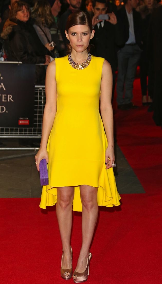 Kate Mara The House of Cards TV premiere London