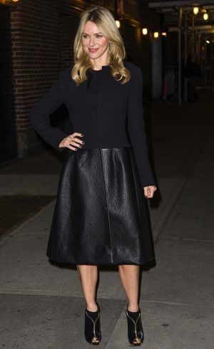 Naomi Watts Late Show with David Letterman New York City Dec 2012