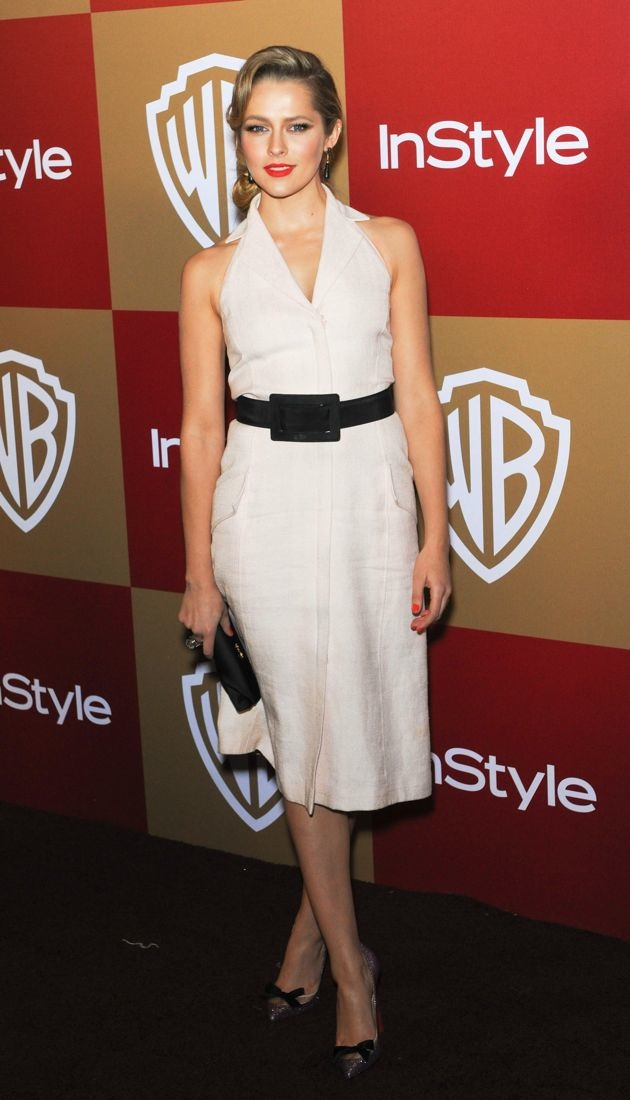 Teresa Palmer InStyle And Warner Bros Golden Globe After Party Los Angeles