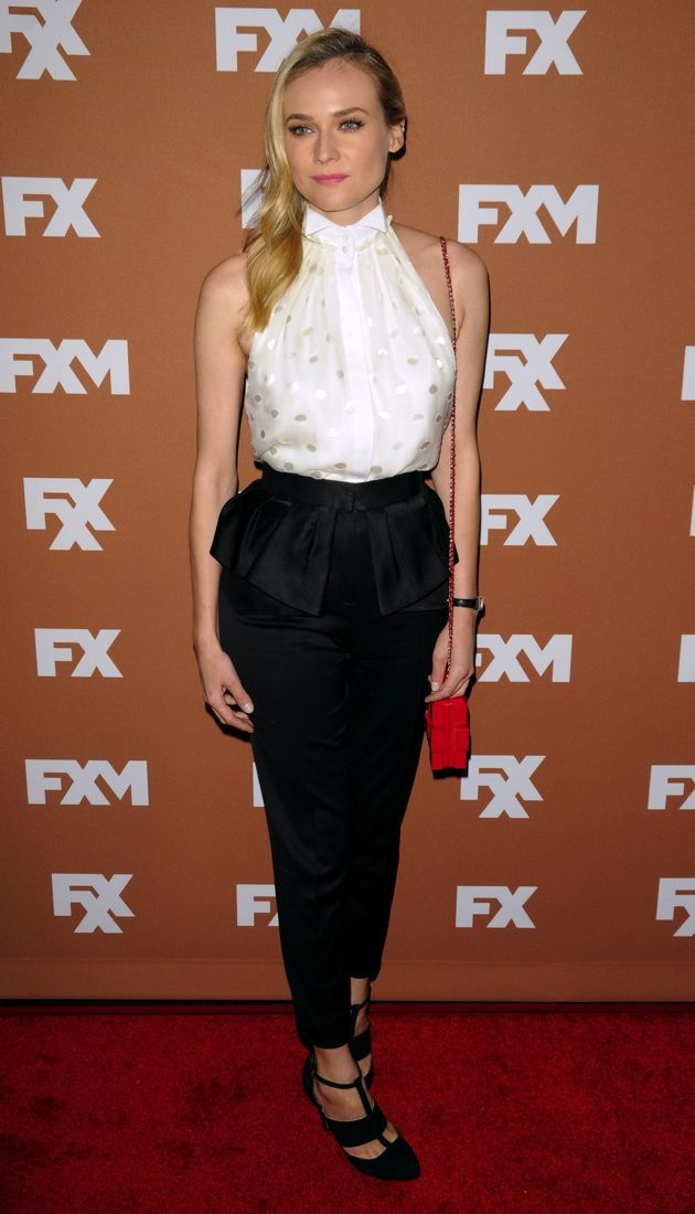 Diane Kruger 2013 FX Upfront Presentation New York City